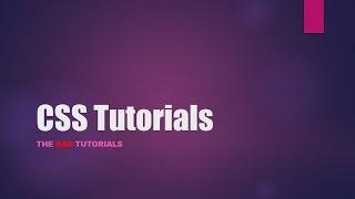 CSS Tutorial - 33: Pseudo Elements