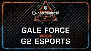 Gale Force vs Team EnVyUs - Rocket League Championship - DreamHack Atlanta 2017