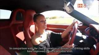 Porsche Boxster S PDK 2013 Presentation (HD) by Ariadne Gerasimidou (+ eng subtitles)