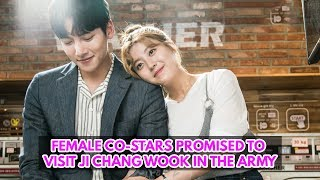 Ji Chang Wook Says His Female Costars Promised To Visit Him In The Army