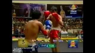 Khmer boxing, Keo Rumchong Vs Long Sophy