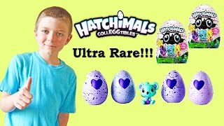 Hatchimals CollEGGtibles Surprise Toy Unboxing with Ultra Rare + Rare Hatchimals and Blind Bags!