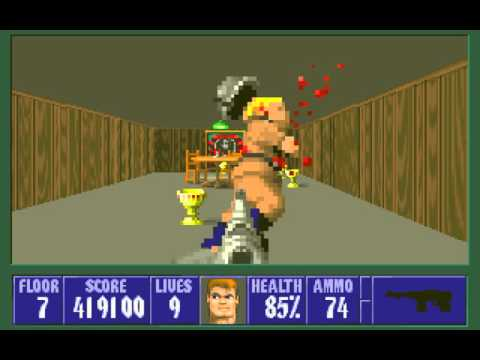 [TAS] DOS Wolfenstein 3D