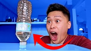 IMPOSSIBLE WATER BOTTLE FLIP CHALLENGE!!! (WORLD RECORD GAME)