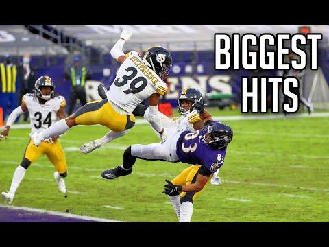 NFL Biggest Hits of Week 8 HD