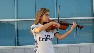 Hala Madrid en Violín