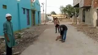 Hyderabadi  Gali ke bache   Cricket match