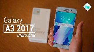 Samsung Galaxy A3 2017 - Unboxing en español