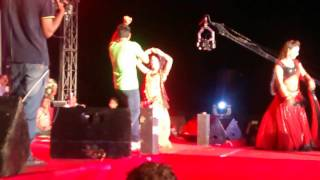 Pawan singh stage show in ramgarh