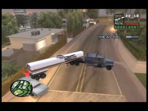 GTA San Andreas 40 Tanker Commander PC