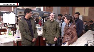 Ragazzi pakistani in visita all'Istituto tecnico tecnologico 'Volta' di Perugia [UMBRIA NEWS]