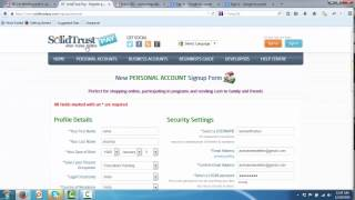 How To Create Solidtrust Account Step By Step in Hindi