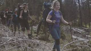 2017 FJALLRAVEN CLASSIC USA //   TREKKING THE TRAIL