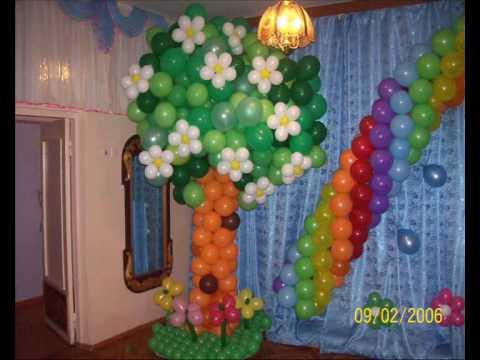 Воздуш� ые шары Гирля� да 6 шаров.