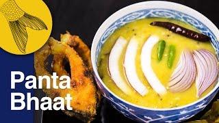Panta Bhat Recipe | Basi Pakhala or Poita Bhat | Bengali Fermented Rice Congee