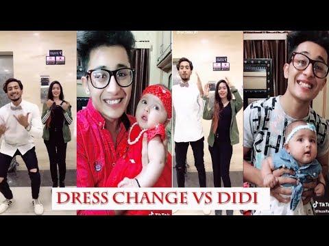 Dress Change vs Didi Challenge || Most Popular Musically Tik Tok