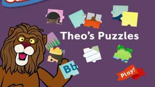 Between the Lions - Theo's Puzzles - Between the Lions Games - PBS Kids