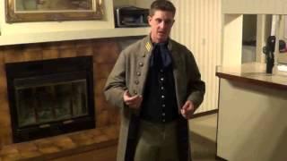Civil War Confederate Officers Frock Coat & Uniform