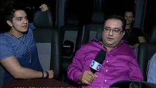 Gê Visita mostra a intimidade do cantor sertanejo Luan Santana