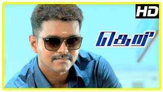 Theri movie | Full action scenes | Vijay | Samantha | Mahendran | Boxer Dheena | Stun Siva