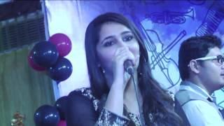 Shivika Rajesh performing at the Ajivasan Fest, 2015