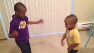Zay Zay vs Jojo DANCE BATTLE!
