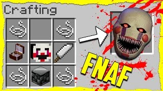Minecraft FNAF - How to Summon PUPPET MASTER in a Crafting Table!