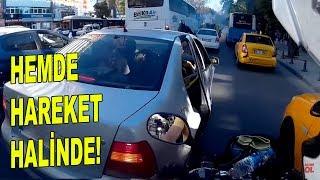 Makas atan motorcular Kazaya kıl payı | Kalp desenli şahin | Trafik Günlüğü 6