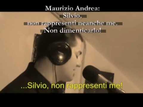Maurizio Andrea Silvio non rappresenti neanche me. Non dimenticarlo