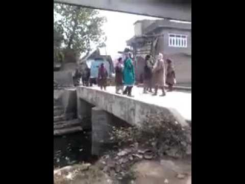 indian army under kashmir woman - indian army dragged a kashmiri women (free kashmir)