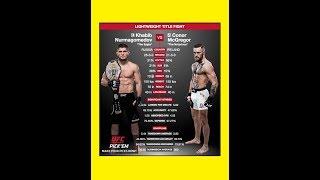 Conor McGregor vs Khabib Nurmagomedov ► ►