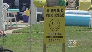 Smile For Kyle Alex's Lemondade Stand Hits NE Philly