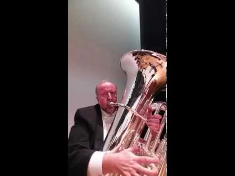 Vurl Bland on the John Packer JP379CC Sterling Tuba
