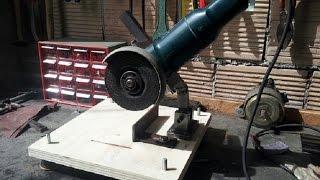 supporto smerigliatrice fai da te (homemade angle grinder stand)
