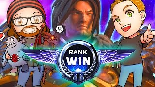 RANK WIN | Varian's Violent Visit | MFPallytime & Mewnfare | Heroes of the Storm Gameplay