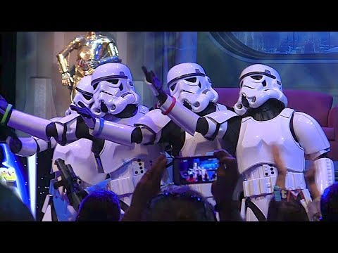 Stormtroopers sing Let It Go from Frozen in song medley at Star Wars Weekends 2014