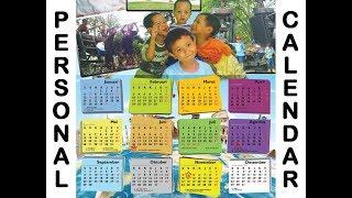 Tutorial Membuat Kalender Pribadi dengan Microsoft Publisher