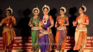 Odissi dance performance at Shree Jagannath Mandir