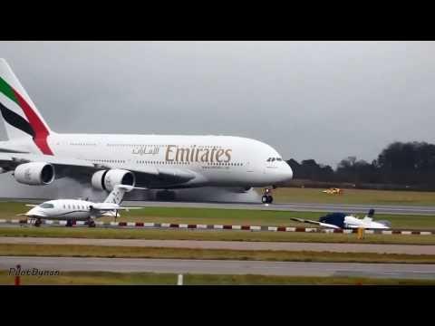 El maravilloso avion de dos pisos el Airbus A380