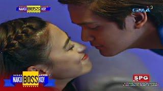 Naku, Boss Ko!: A kiss from Jon G