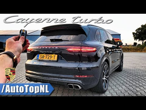2019 PORSCHE CAYENNE TURBO Review 300km h POV on AUTOBAHN & ROAD by AutoTopNL