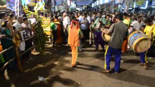 Thappattam performed at Periya Mariamman Kovil, Erode