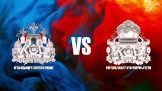 France vs Korea - Popping Final - KOD Street Dance World Cup 2016