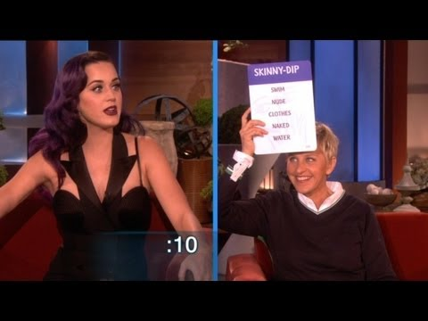 Katy Perry and Ellen Play Taboo