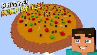 LA PLUS GRANDE PIZZA AU MONDE ! | BUILD BATTLE | Minecraft (Avec POPI)