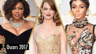 Best and Worst Dressed - 2017 Oscars Red Carpet Fashion from Emma Stone, Taraji P Henson and More