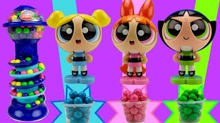 Powerpuff Girls Gumballs LEARN COLORS Teach Counting NUMBERS and COLOURS for Toddlers