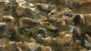 آموزش سس استيك (مرغ و گوشت) سس قارچ به سبك رستوران هتل اِوين(جوادجوادي)