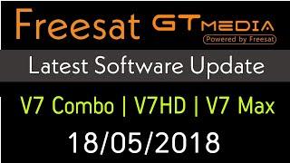 FREESAT GTMedia New Firmware Update 18/05/2018