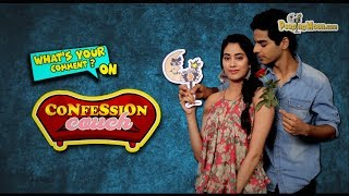 Double Dose: Janhvi Kapoor and Ishaan Khatter on Confession Couch